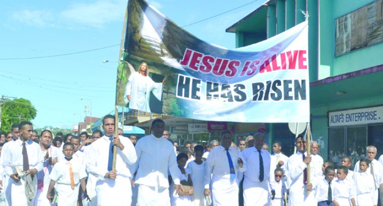 Nasea Methodist  Church Marks Resurrection Day