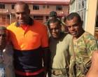 Star Winger Visits Cyclone Victims