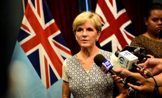 Press Conference with Australia's Foreign Affairs Minister,  Julie Bishop