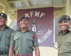 NZ Fijian Army Officers Salute Camaraderie