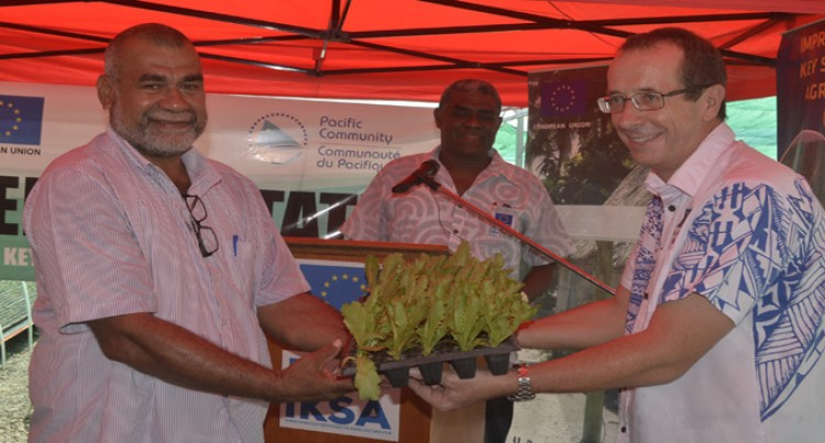 EU Hands Over 34,550 Seedlings To Boost Agriculture Sector