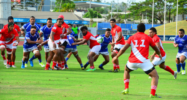 Samoa A Too Strong