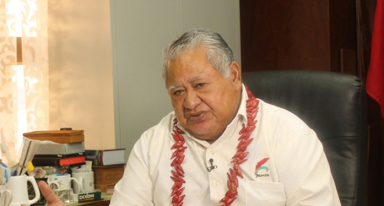 PM Bainimarama Congratulates His Samoan Counterpart  Tuilaepa On Electoral Win