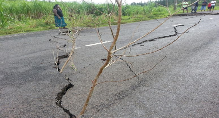Large Slip Occurs On Nabouwalu Road