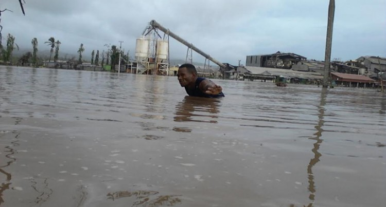 Nadi Under High Water Flooding