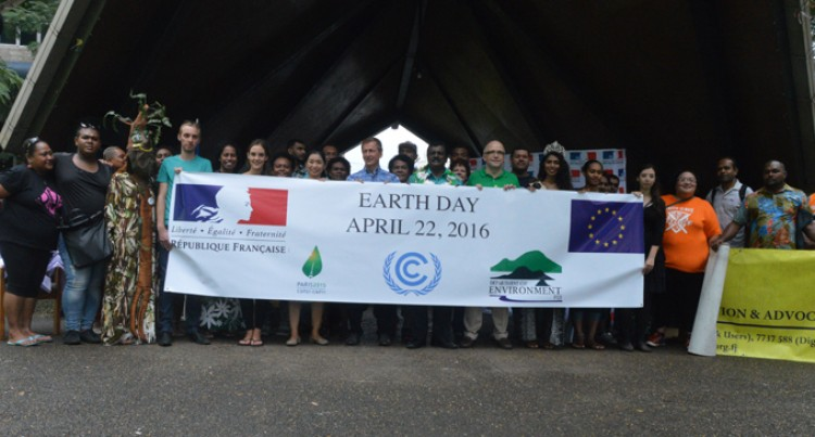 Earth Day Celebrated In Suva