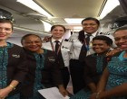 All Female Flight Crew Attracts Attention