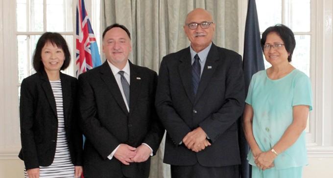 Canadian Diplomat  Presents Credentials