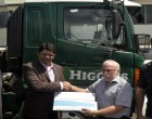 Higgins Gives $100K