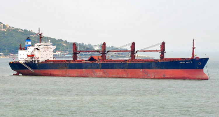 Bauxite Shipment  in May