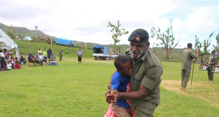 RFMF, Police,  Brighten Day For   Koro Islanders
