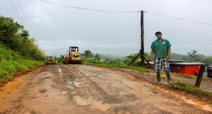Road Works Brings Relief