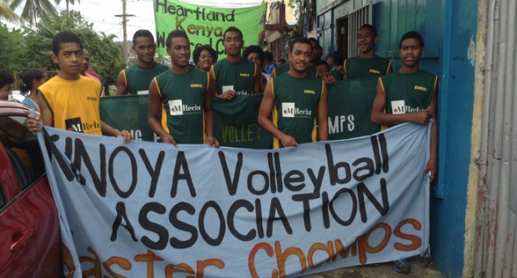 Community Honours Volleyball Heroes