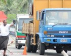 Police Warn Container Truckers