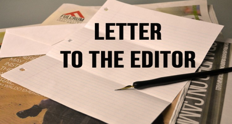 Letters To The Editor, 7th, May, 2016