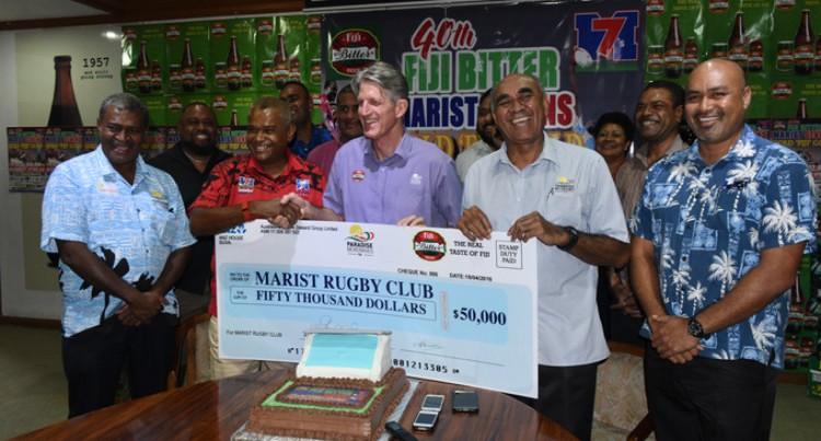 Fiji Bitter Marist 7s  $50K For Marist 7s
