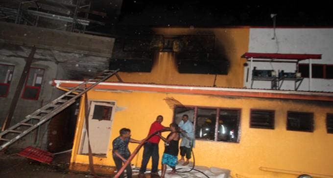 5 Fire Trucks Used To Extinguish Navua Blaze