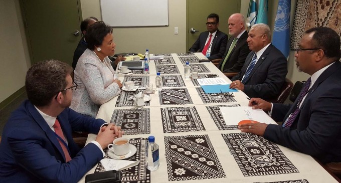 Climate Resilience Dominates Talks Between PM And CommonWealth SG