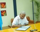 PM Signs Paris Ratification