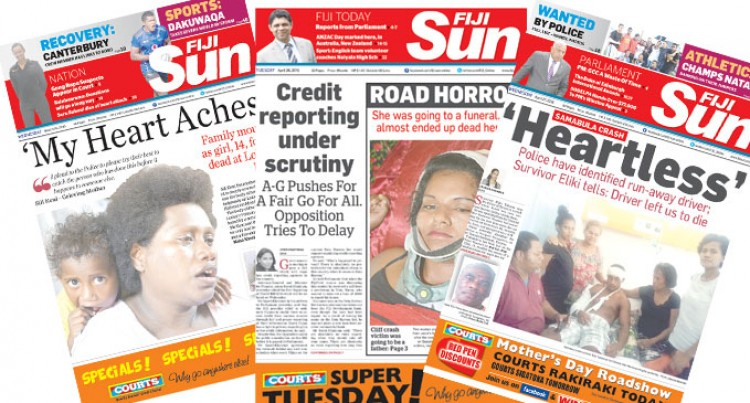 Fiji Sun Goes To $1 On Viti Levu