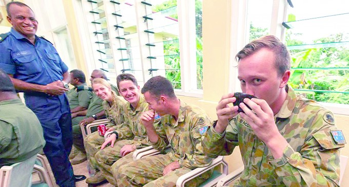 Aust And NZ Personnel Farewelled