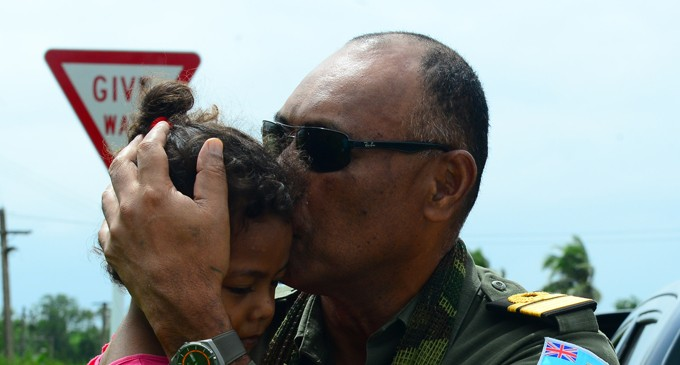 Commander Visits Forces