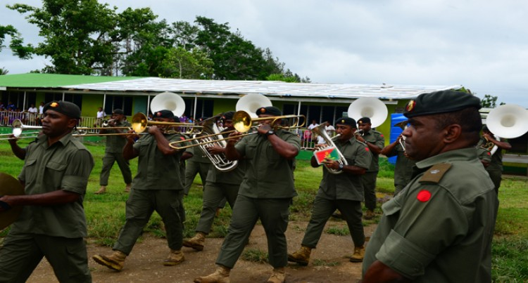 Army Band Surprise Visit Excites Korovou