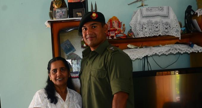 Kumar Leads Fijian Battalion to Sinai