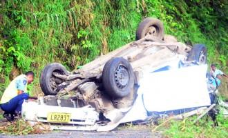 Crash Victim Thankful To Be Alive
