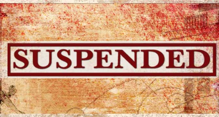 Political Parties Suspended
