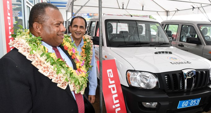 Tappoo Group Hand Over Vehicles For Rehabilitation Work