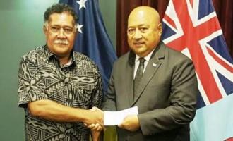 Tokelau Donates To PM's Relief Fund