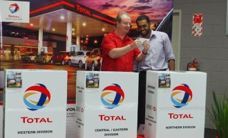 Total Launches New Retail Tagline