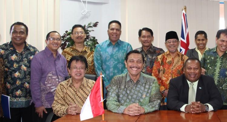 Seruiratu Meets Indonesian Minister