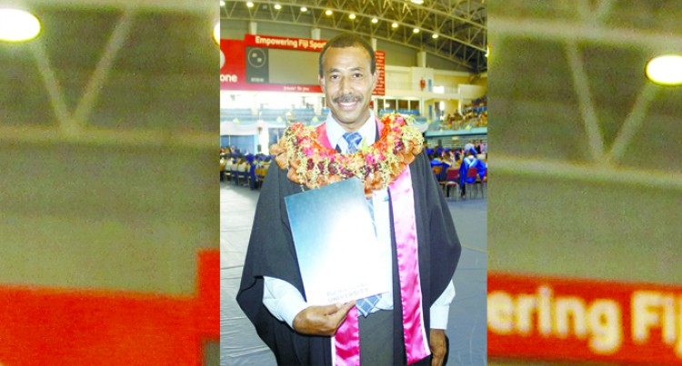 Former Rugby  Player Graduates In Management