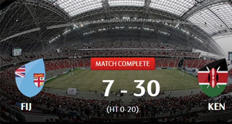 Kenya Takes Home Singapore 7s Trophy