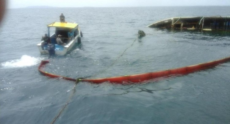 Ministry Keeps Watch On Ship Oil Spill In Levuka
