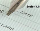 Stolen Cheque