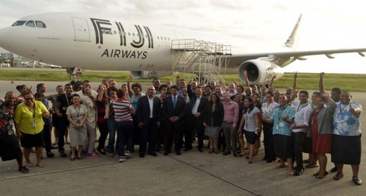 Fiji Airways Staff Happy
