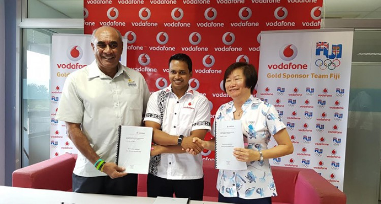 Vodafone Announces Gold Sponsorship For Rio