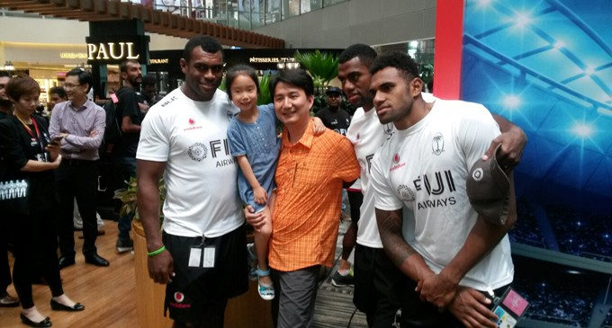 Prime Minister Salutes Our 7s Heroes