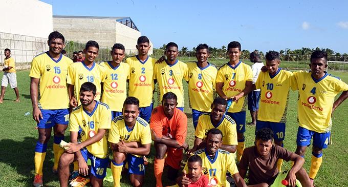 Navua Play Catch Up Football