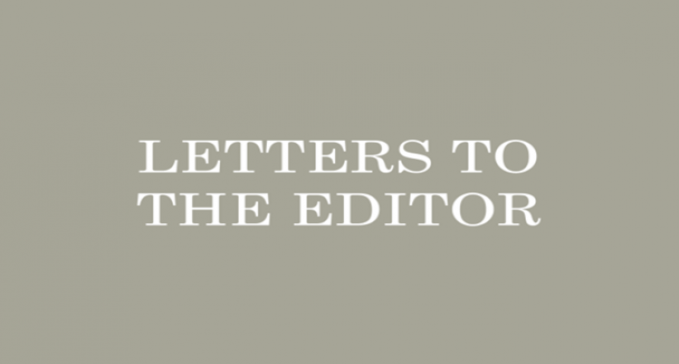 Letters To The Editor, 21 April 2016