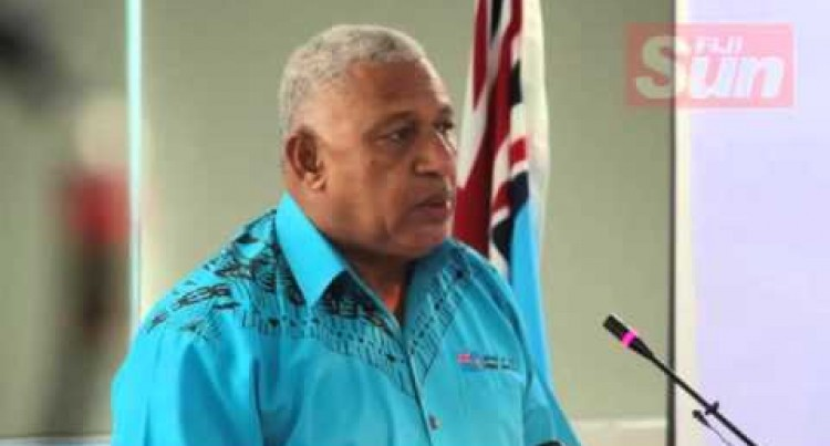 Prime Minister Voreqe Bainimarama's Speech at the launch of 'Help for Homes Initiative and the launch of the Adopt the School Website'