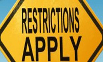 Public Advisory:Movement Restriction