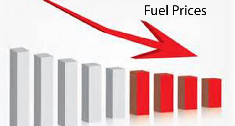 Major Reduction In Fuel And LPG Prices