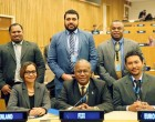 Fijian Delegation Attends New York Meeting