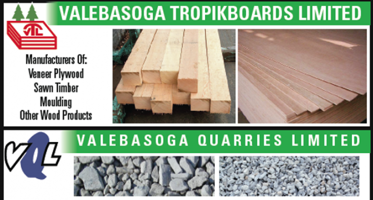 New Sawmill At Valebasoga Tropikboards