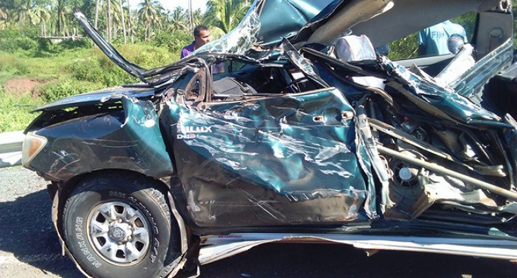 Drivers, Passengers Escape Serious Injuries