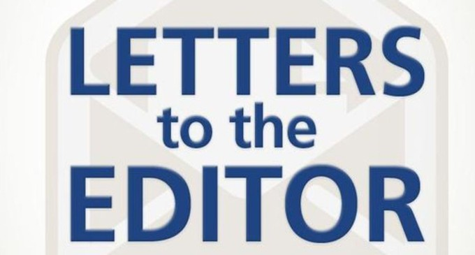 Letters To The Editor, 22nd, September, 2016